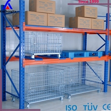 Industrial warehouse heavy duty united steel products pallet racks