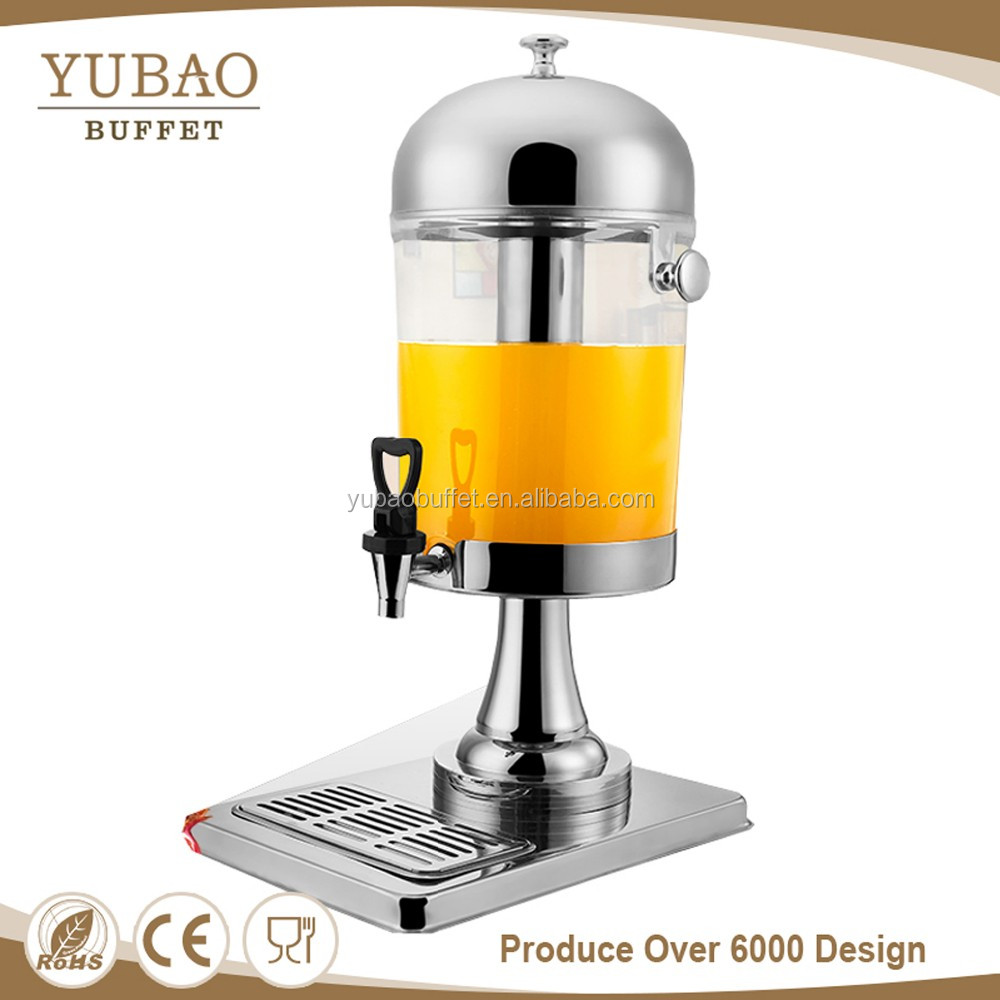 Stock Commercial Catering Urn,Buffet Juice Dispenser , Countertop Water Dispenser For 5 Star Hotel