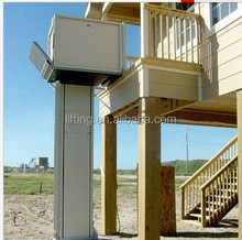 1-6m 250kg electric home hydraulic lift elevator for disabled people