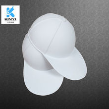 Eco-friendly Molded Pulp Paintable Paper Graffiti Hats
