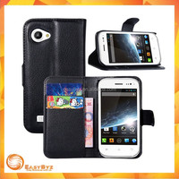 PU Leather Holder Wallet Flip Cover Stand Case For Wiko Cink Slim