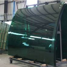 6mm 8mm 10mm curved glass manufacturers, tempered curved glass production line