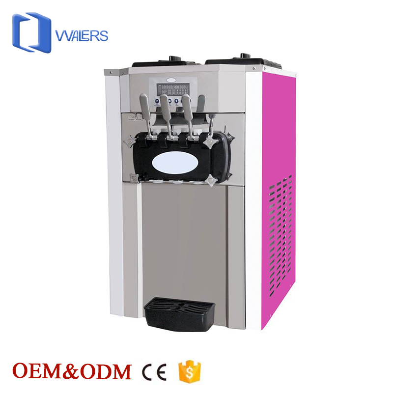 Excellent product Large capacity commercial portable ice cream maker with rainbow function