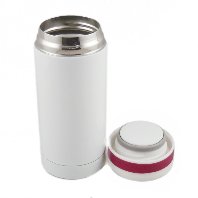 Eco-Friendly double wall vacuum flask insulated stainless steel water bottle