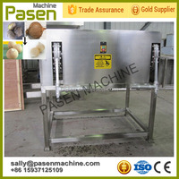 Stainless steel Cutting Machine Coconut Shell / Coconut Shell Removing Machine / Coconut Sheller Machine