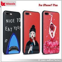Customized attractive appearance cover for iphone 7 plus original,for iphone 7 plus cover,for apple for iphone 7 plus