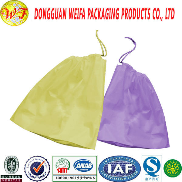 Plastic New products colored drawstring trash garbage bag made BY China Supplier