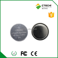 CR2050 battery button cell battery 3V lithium primary battery