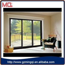 hot sale aluminum mexican exterior doors/large sliding glass doors for house
