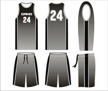 High Quality Sublimated Custom Basketball Uniform for basketball team