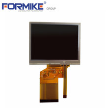 OEM factory 3.5inch 320x240 resolution 12O'Clock with RTP TFT LCD display
