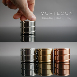2018 NEW Fidget Vortecon Kinetic Spinning Desk Toy Continuously Flowing Helix Vortecon