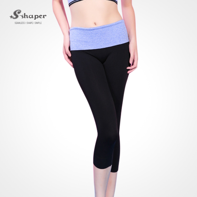S-SHAPER TV Shopping Women's Tights Capri Yoga Running Workout Leggings Pants