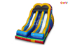 Commercial Funny Outdoor Inflatable Racer Slide /Colorful Inflatable Double Climbing Slide