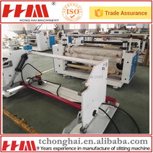 Jumbo roll cutting machine for tapes,papers,films rolls