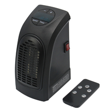 XP-230 Euro wall-outlet space heater 400W remote control powerful mini electric handy heater
