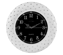 Special design popular round ball office resin art wall clock JHF14-8085A