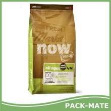 newest Bopp film laminated pp woven pet food bag, pet feed bag
