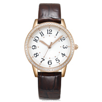 Hot selling thin watch/ charming and vogue wrist watch for women