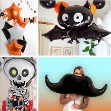 New HOT Festive Party Products Black Bats Balloon For Halloween Layout Decoration Balloons
