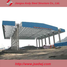 Design Environmental Space Frame Structures Petrol Station for 2017