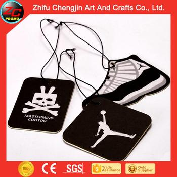 Custom Made auto paper air freshener car with great price