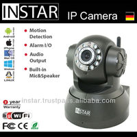 INSTAR IN-3010 Wifi IP Camera with IR Nightvision, Pan, Tilt, Micophone, Speaker