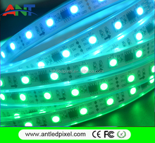 30LED DC12V 10 pixel/m RGB DMX512 digital LED strip addressable