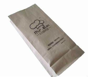Promotional Pizza Paper Bags/ Paper Bottle Bag/ Paper Rice Bag