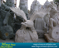 large eagle garden statues