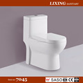 Popular ceramic washdown one piece WC Toilet