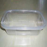 Biodegradable Blister Disposable PP Clear Plastic Lunch Container