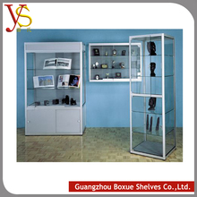 furniture design home decorative glass wall display cabinet showcase