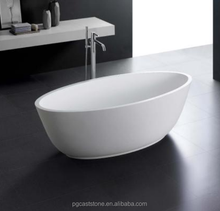 Stone Resin Freestanding Bath for luxury resort