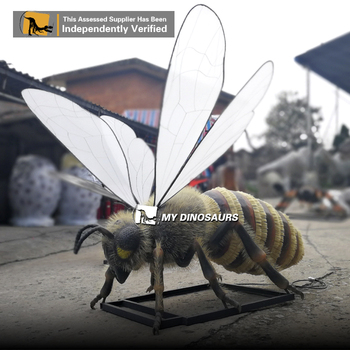 MY DINO-AI63 Playground Insect Model Resin Cartoon Sculpture