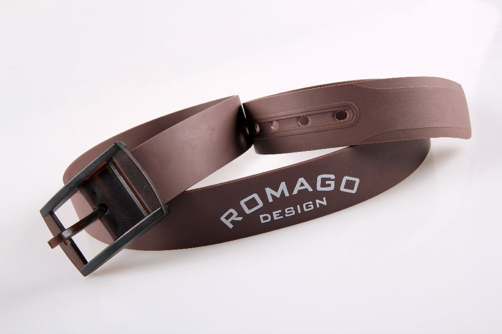 2014 Hot Fashion Customized Perfum Men's Silicone Golf Belts