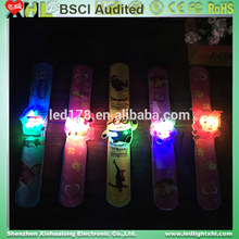 Popular Custom Music Activated Sound Control Led Flashing Bracelet For party supplies