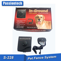 Rechargeable in ground wire pet containment fences with warning tone function