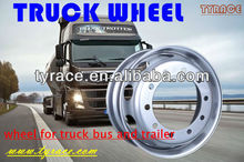 steel truck wheel for truck and bus with nice painting and strong welding part