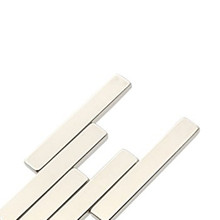 China manufacture customized strong magnetic bar neodymium permanent magnet