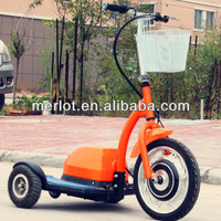 three wheel 48 volt lithium ion battery electric bike 500w