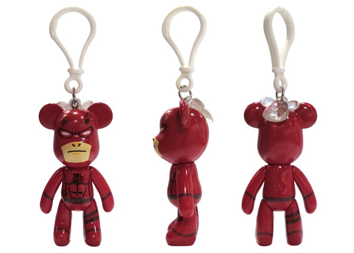 New Arrival Daredevil Keychain Plastic Type Key Ring PVC Material Marvel Action Figure Keychain