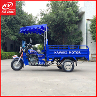Two Seat Motorcycle Electric Start Pedal Cargo Stand Up Tricycle Cheap Price Made In China