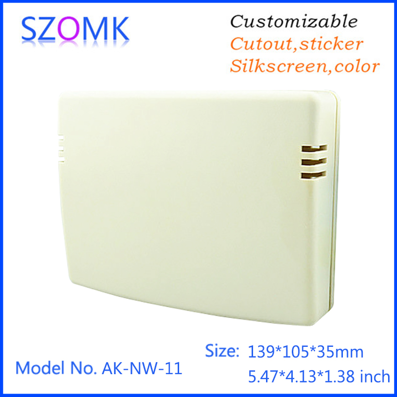 Electronic devices networking router wireless plastic enclosure