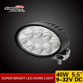 Latest 5.5 inch Light New Adjustable Bracket 40w LED Work Light for Agricultural Machinery
