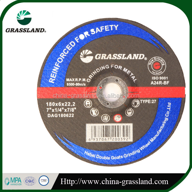 "7"" abrasive cut off wheel for stationary machines"