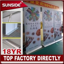 Shenzhen 2016 New type hanging attractive Scrolling Retractable Roll Up Banner Stand for Exhibiton