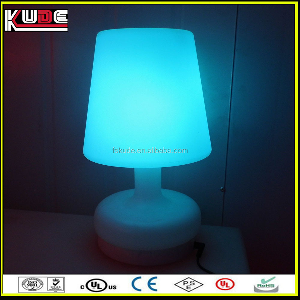 small rechargeable battery led table light for decoration