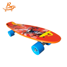 Complete plastic 4 wheels skateboard longboard deck wholesale manufacture
