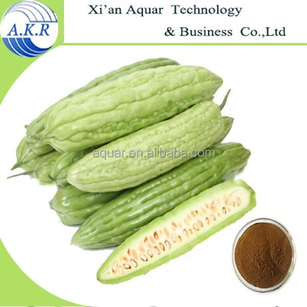 Organic plant extract UV Brown Powder Bitter Melon Extract and free sample